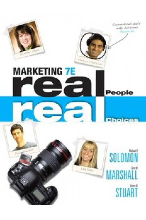 Marketing: Real People, Real Choices (7th Edition) eBook