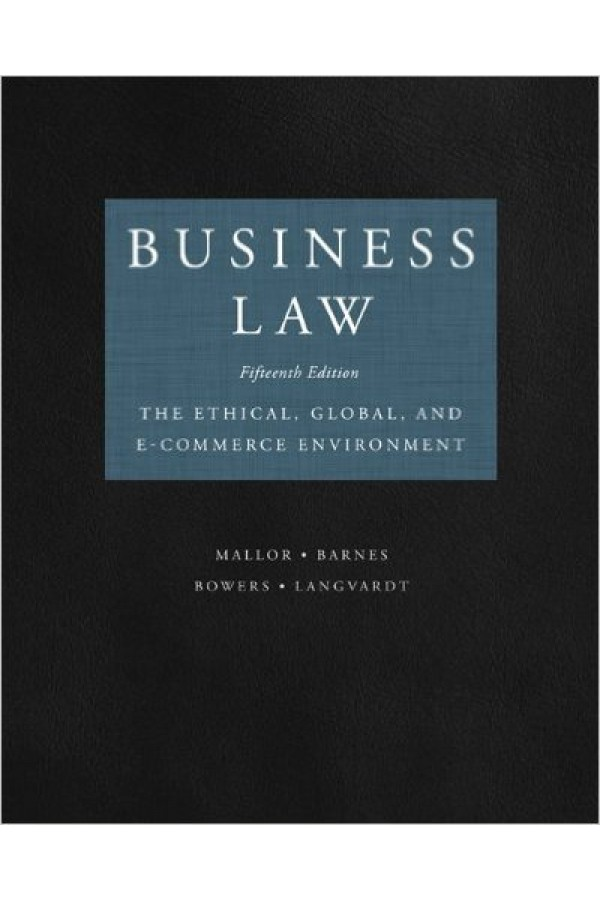 Business Law 15th edition Pdf Format