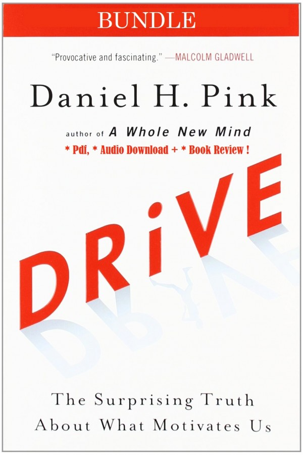 Drive: The Surprising Truth About What Motivates Us Audiobook + Digital Book Included!