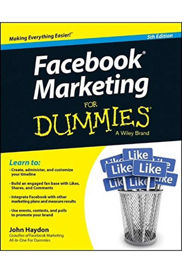Facebook Marketing For Dummies 5th ed (PDF)