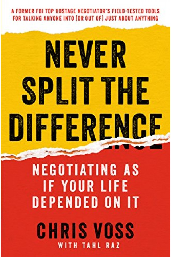 Never Split the Difference Audiobook + Digital Book Included