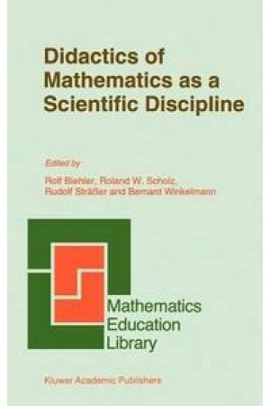 Didactics of Mathematics as a Scientific Discipline eBook