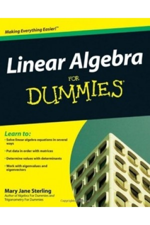 Linear Algebra For Dummies by Mary Jane Sterling