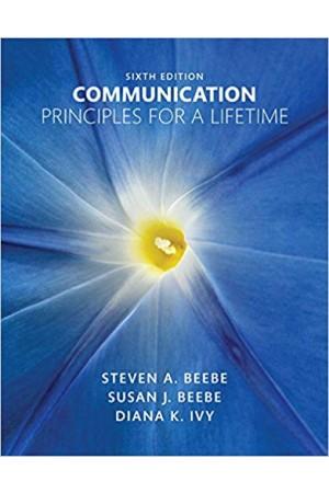 Communication: Principles for a Lifetime 6th Pdf Edition