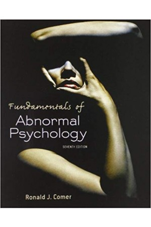 Fundamentals of Abnormal Psychology Seventh Edition Pdf Edition
