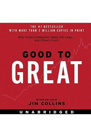 Good to Great (Unabridged MP3) + (PDF)