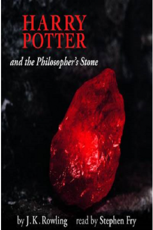 Harry potter and the Philosopher's Stone Audio Book Disc 1 (Read by Stephen Fry)