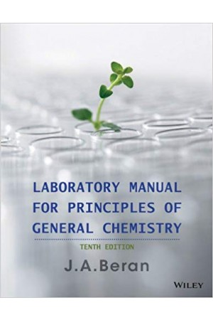 Laboratory Manual for Principles of General Chemistry, 10th Edition Pdf Format