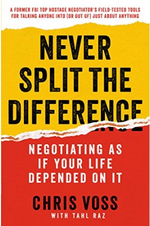Never Split the Difference (Unabridged).