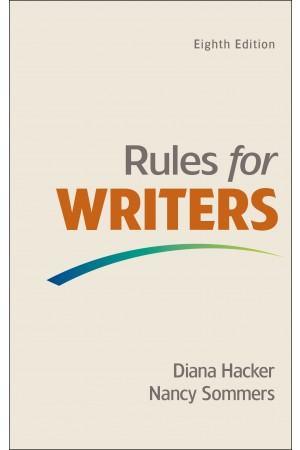 Rules for Writers 8th edition PDF Format