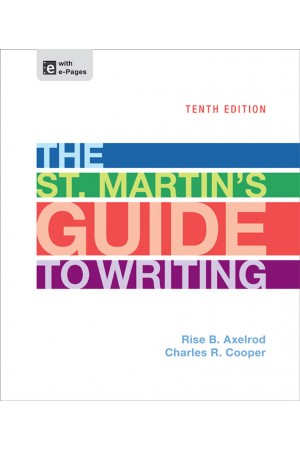 The St Martins Guide to Writing 10th ed Pdf Edition