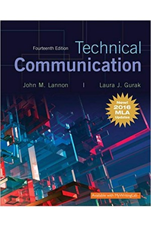 Technical Communication 14th Edition with, MLA Update Pdf Edition