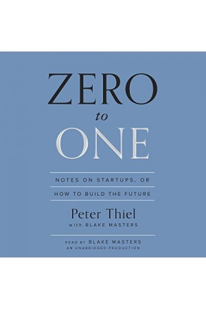 Zero to One Audidownload *UNABRIDGED